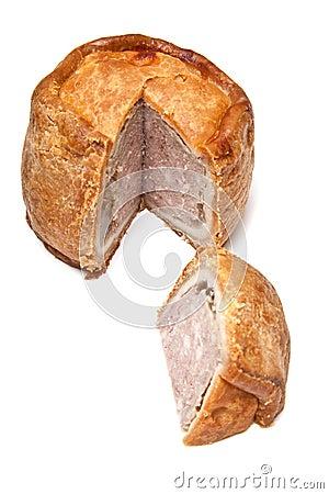 Free Melton Mowbray Pork Pie Stock Image - 23686491