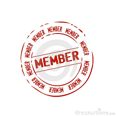 Member Stamp Vector Royalty Free Stock Images - Image: 8479589