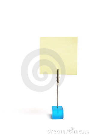 Free Memo Clip Holder Stock Images - 10714124