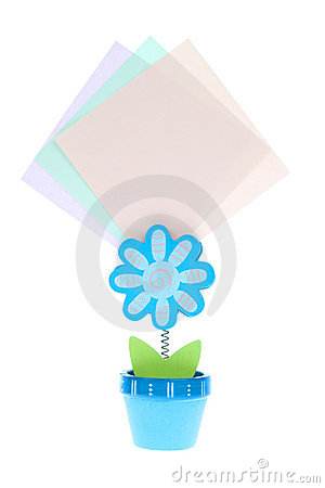 Free Memo Holder Royalty Free Stock Photos - 13127008