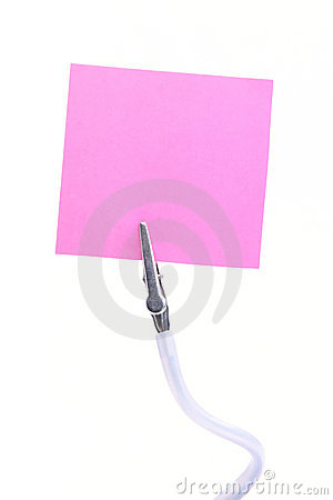 Free Memo Holder Stock Images - 1750034