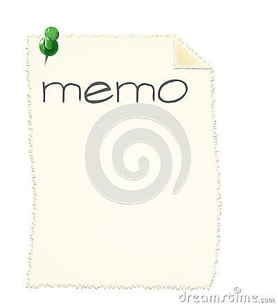 Memo slip