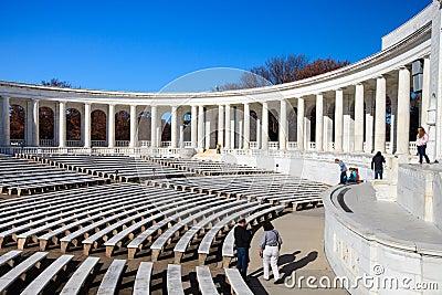 Memorial Amphitheater Arlington National Cemetery Editorial Image