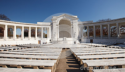 Memorial Amphitheater Tomb of the Unknowns Editorial Image