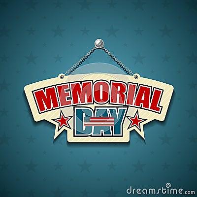 Memorial Day American signs