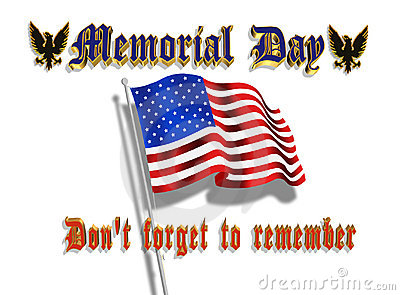 Memorial Day Graphic 3D