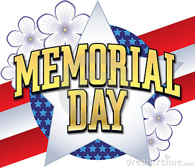 Memorial Day Logo Type