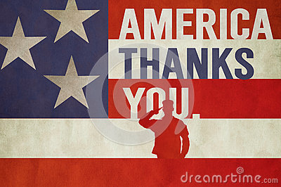 Memorial Day Veterans Day Art Stock Photo