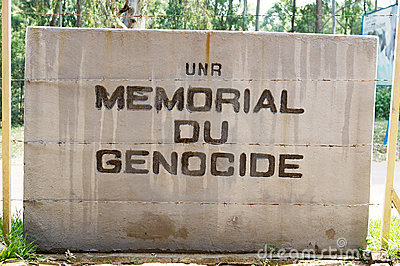 Memorial Genocide at the NUR Editorial Image