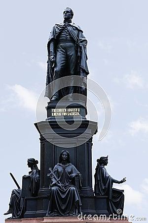 Memorial King of Saxony Friedrich August II