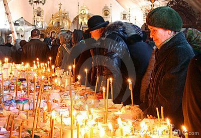 Memorial Saturday in Ukraine Editorial Photo