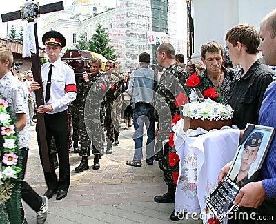 Memorial service Editorial Image