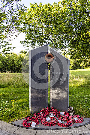 Free Memorial Telford Town Centre Shropshire Royalty Free Stock Image - 50620456