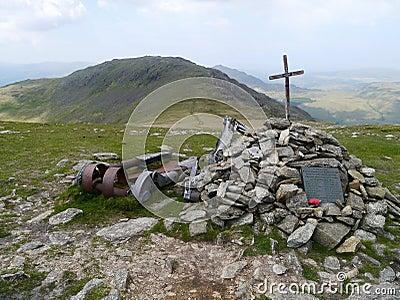 Memorial to airmen lost in 1944