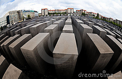 Memorial to the Murdered Jews of Europe Editorial Photo