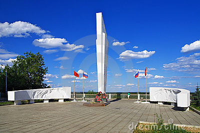 Memorial to soldiers died in World War II, Kirov