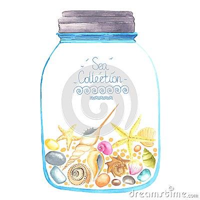 Free Memories In A Jar. Stock Images - 58148024
