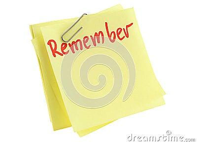 Memorize paper sheet