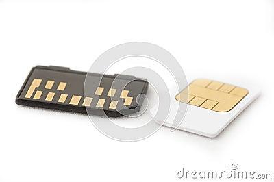 Memory Card - Sim Card