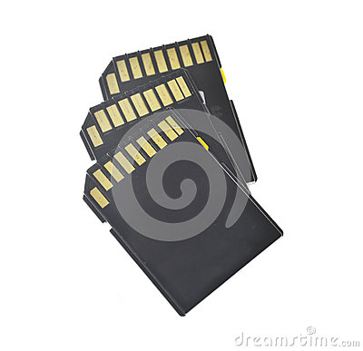 Free Memory Cards Stock Image - 69009591
