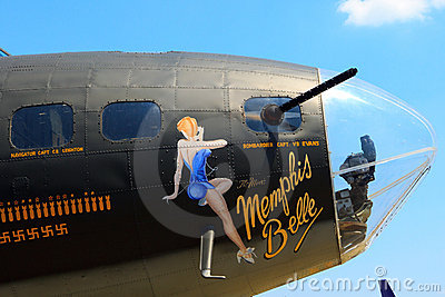 The Memphis Belle Editorial Photography