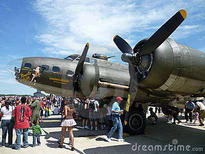 Memphis Belle B17 Editorial Photography
