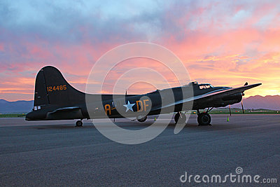 The Memphis Belle Editorial Stock Image