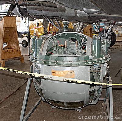 Free Memphis Belle Sperry Lower Ball Turret Restoration Royalty Free Stock Photography - 81285317