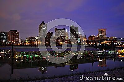Memphis Cityscape Stock Photography - Image: 12450672