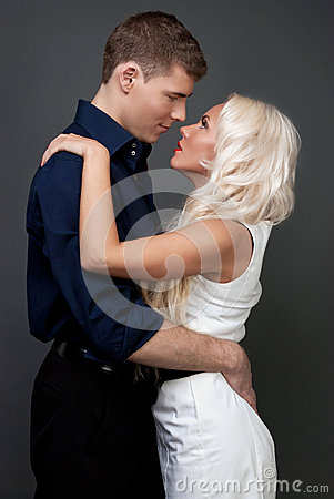 Free Men And Women Love. Tenderness Love Story. Royalty Free Stock Photo - 37082635