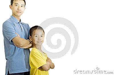 Men and children