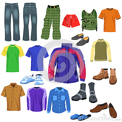 Free Men Clothes Royalty Free Stock Photos - 32487498