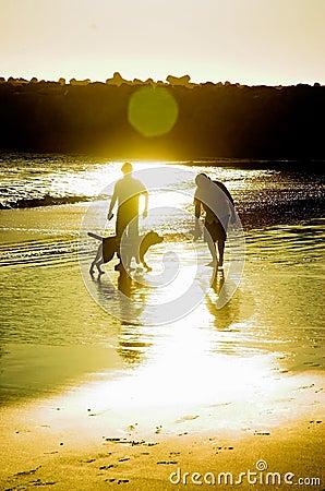 Free Men & Dog Royalty Free Stock Images - 1645599