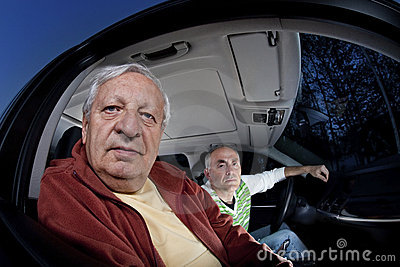 Men lost while driving asking for directions