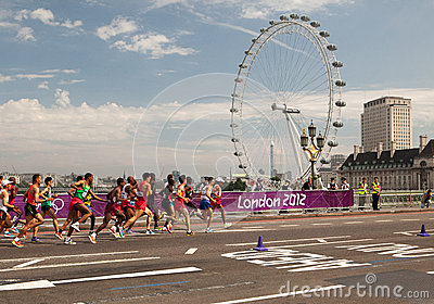 Men Marathon - Olympics 2012 Editorial Image
