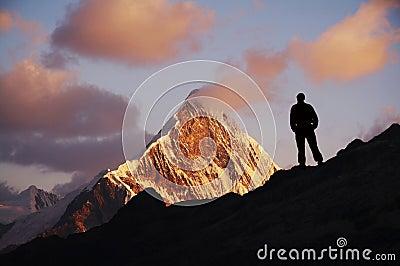 Men in mountain