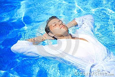 Men pool