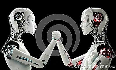 Men robot vs women robot