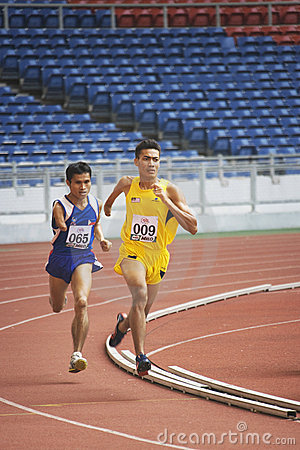 Men s 1500 Meters for Disabled Persons Editorial Photo