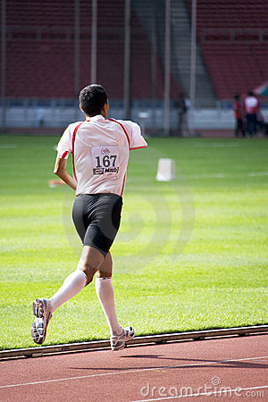 Men s 1500 Meters for Disabled Persons Editorial Image