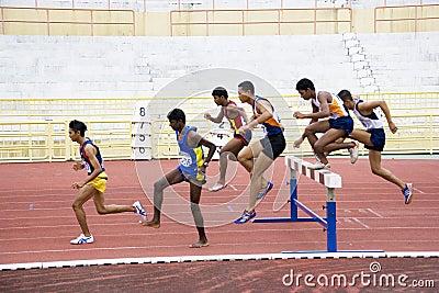 Men s 3000 Meters Steeplechase Editorial Photo