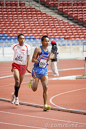 Men s 800 Meters for Disabled Persons Editorial Stock Photo
