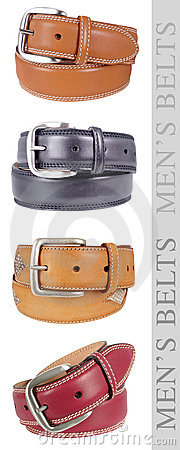 Men s Belts, multicolor