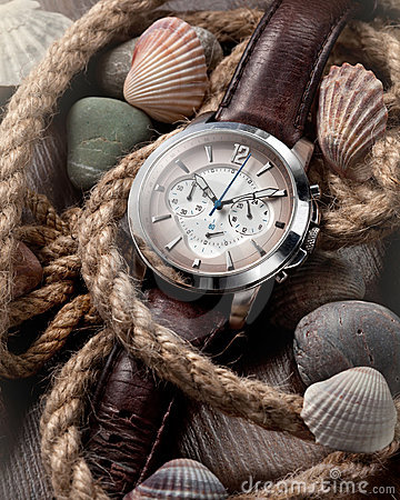 Free Men S Classic Watch Royalty Free Stock Images - 23199909