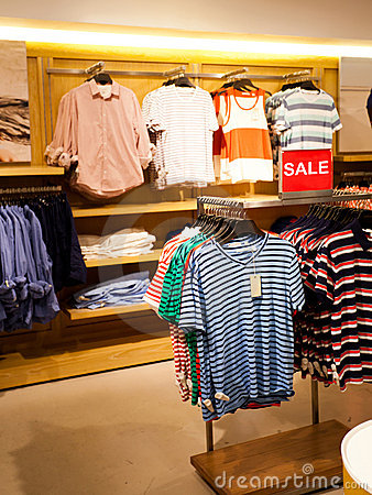 Men Clothing Store Stock Photo - Image: 72116987