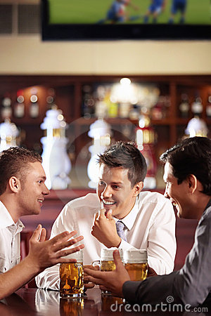 Free Men S Conversations Stock Photography - 16156132