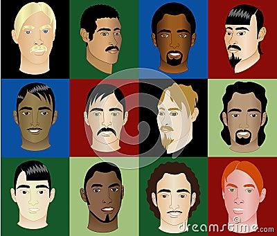 Men s Faces 2