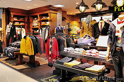 Men Clothes In Shop Stock Photography - Image: 16597472