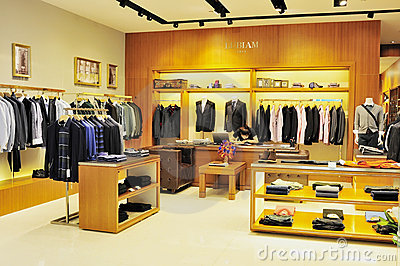 Men's Fashion Clothing Store Editorial Stock Photo - Image: 21701938