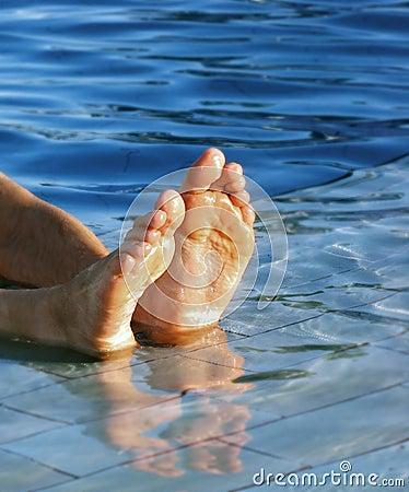 Men s feet